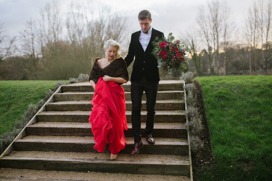 Nadia Di Tullio Charley & Bobs red dress
