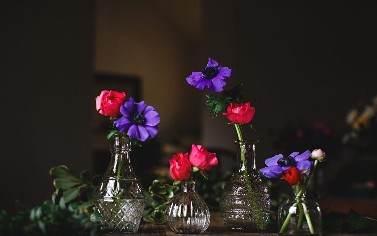 Nadia Di Tullio Flowers Bottles