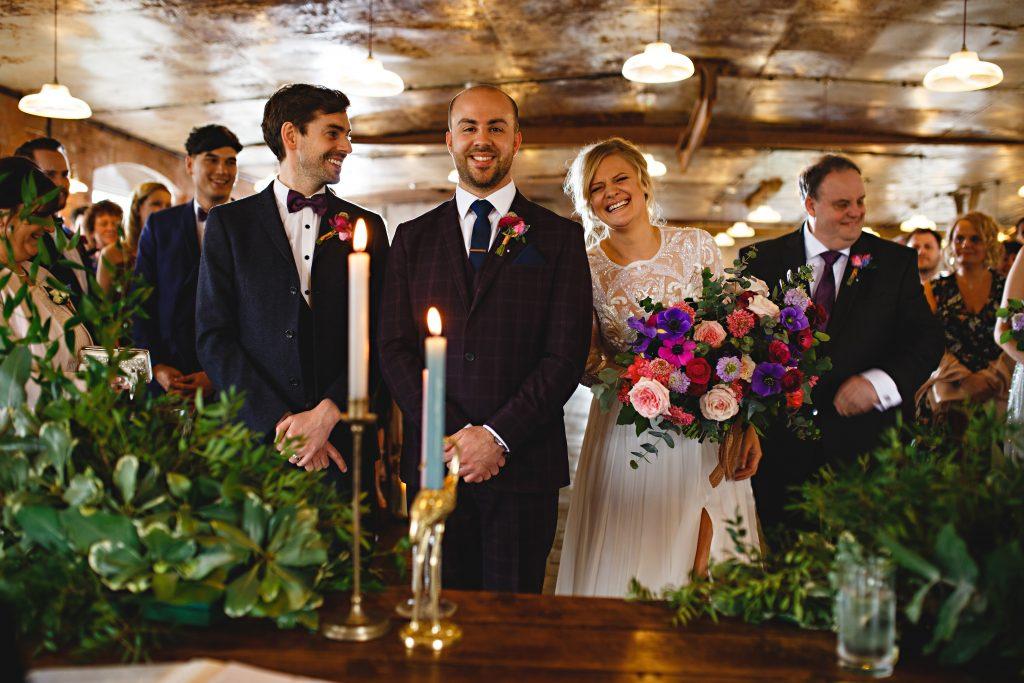 Alison & Karl Nadia Di Tullio Flowers West Mill
