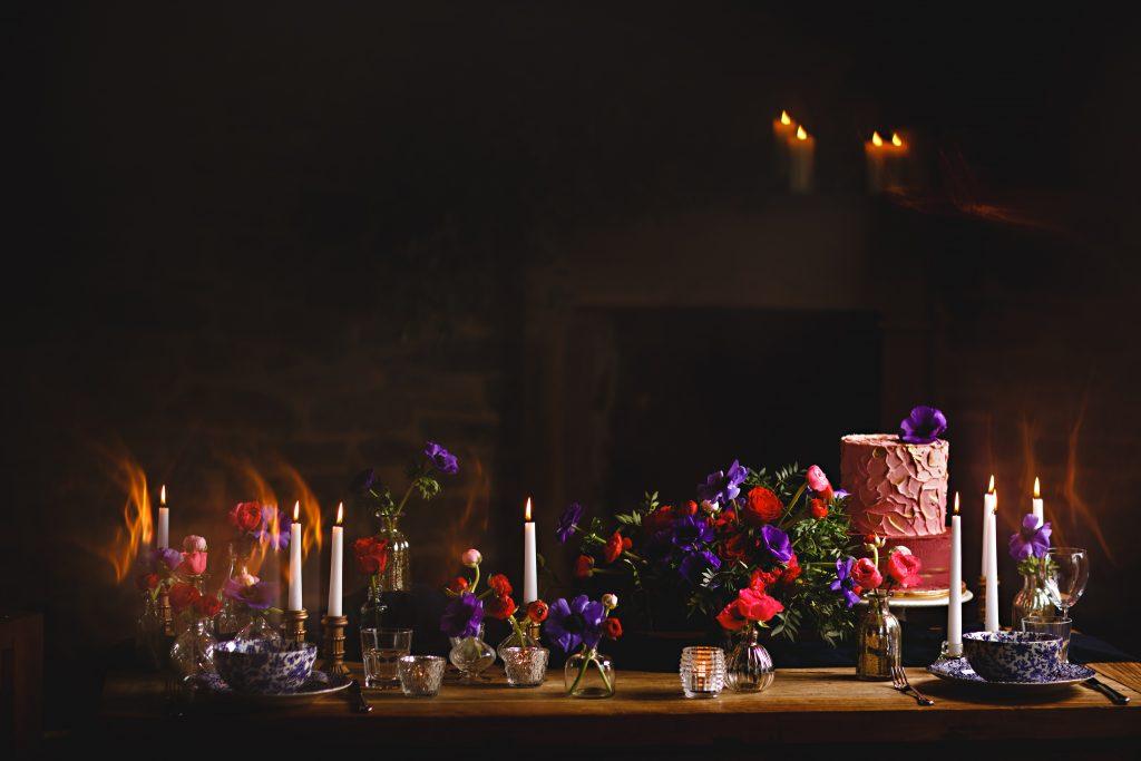 Wintertime shoot Nadia Di Tullio flowers