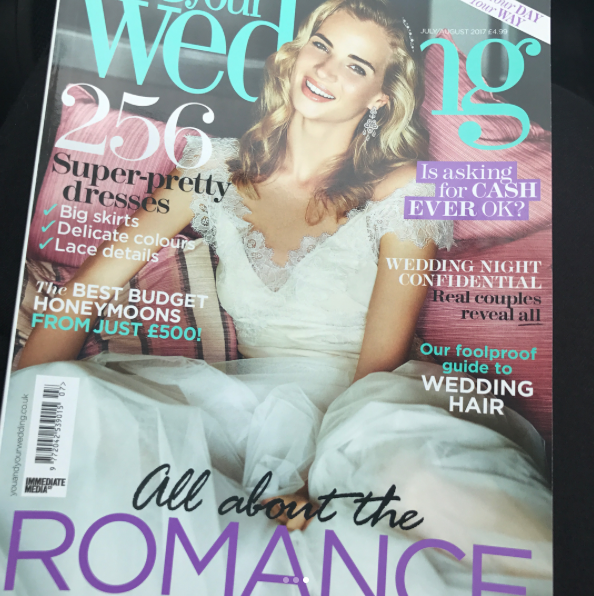 Nadia Di Tullio You and Your Wedding Mag