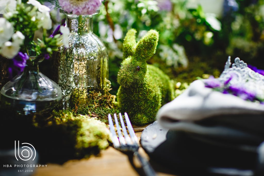 mossy bunny Beautiful wedding cake Nadia Di Tullio Flowers