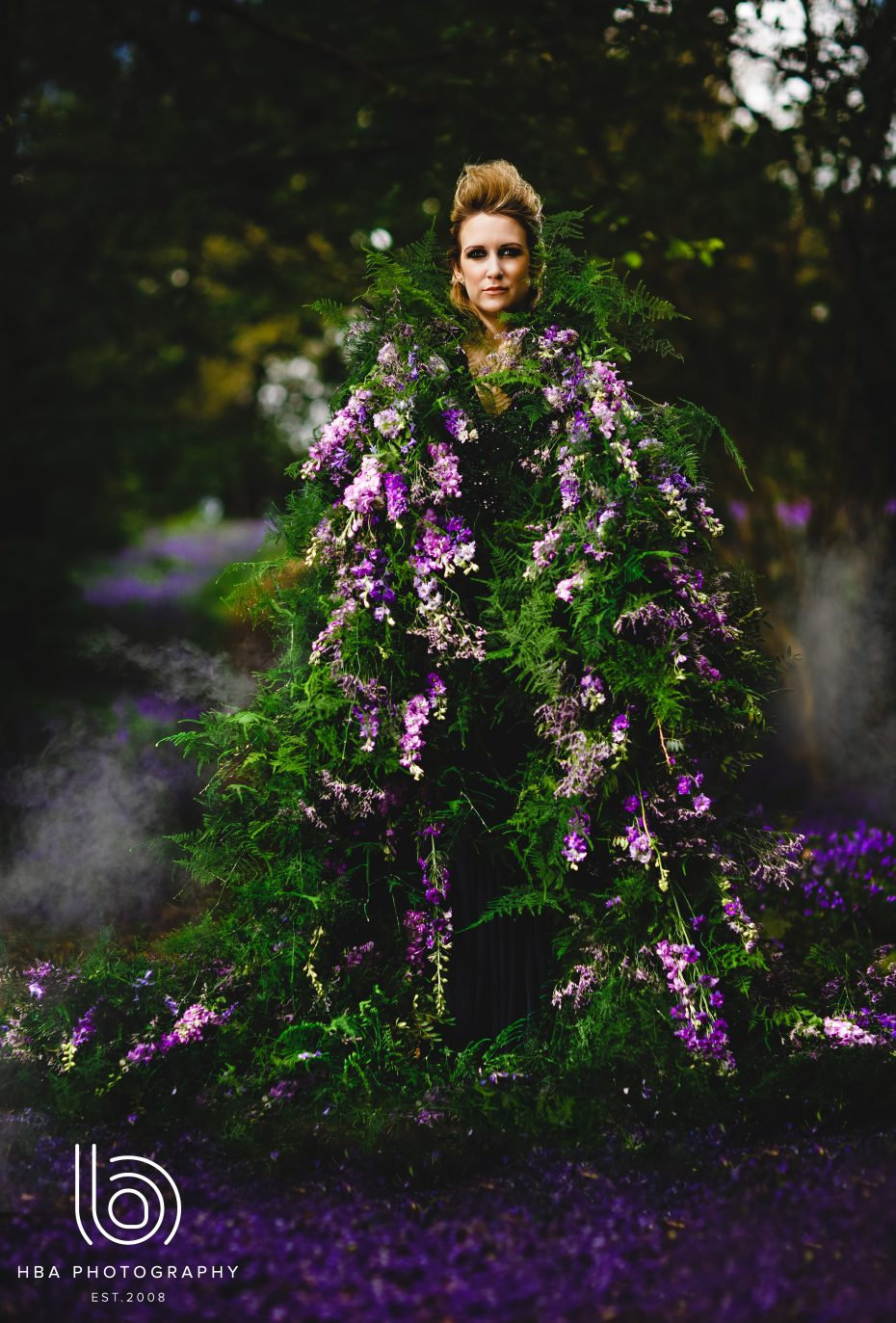 Floral couture The Bluebell Woods Nadia Di Tullio Flowers