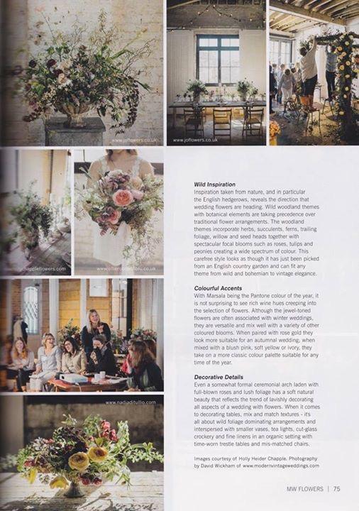 Nadia Di Tullio IN Brides Mag