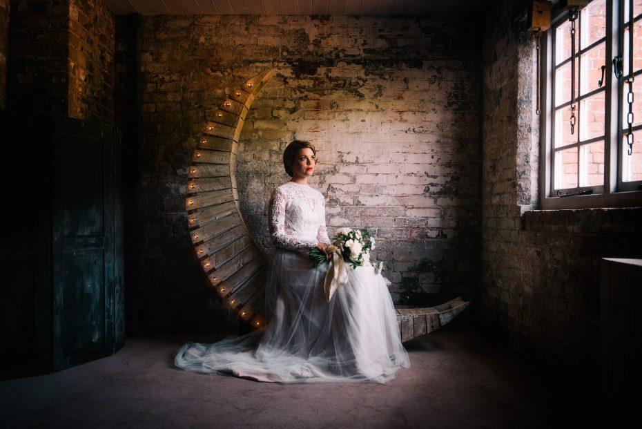 Bride on the moon Yeldersley hall