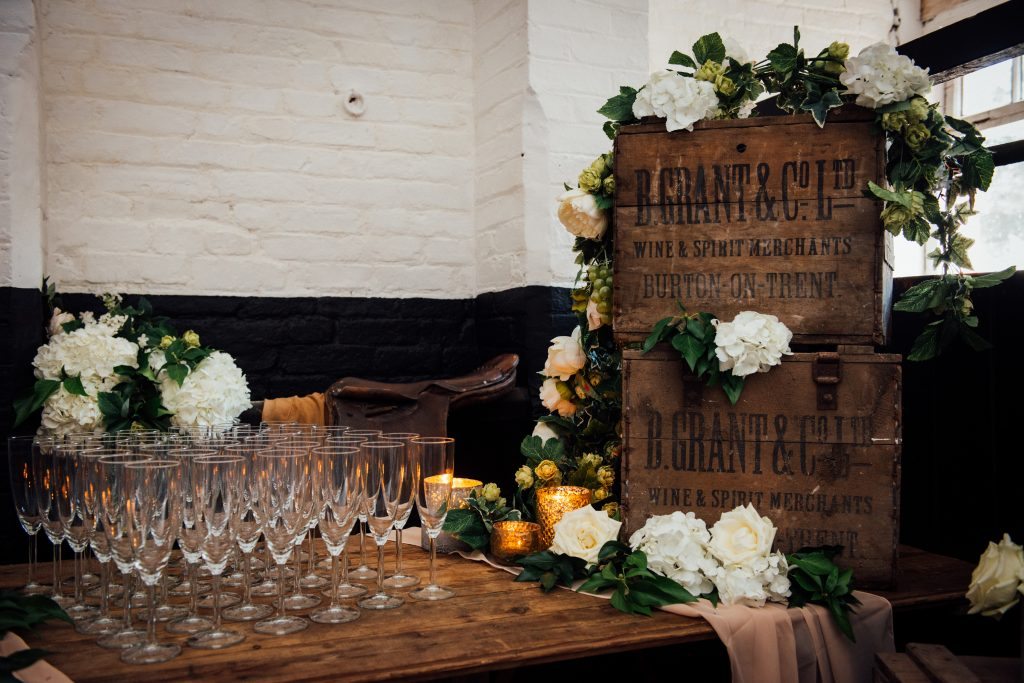 Yeldersley Hall stables bar