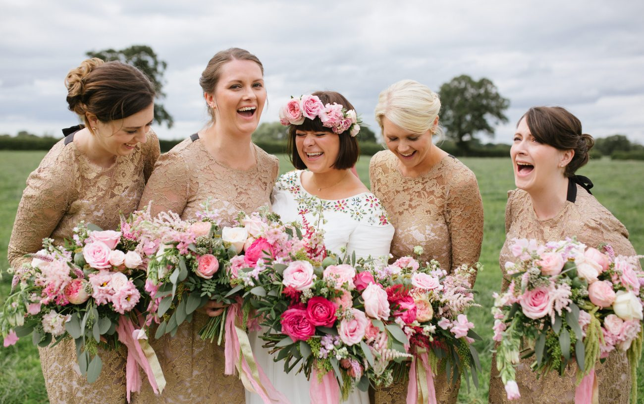 Wedding Flowers - Bouquets at Orchard Farm