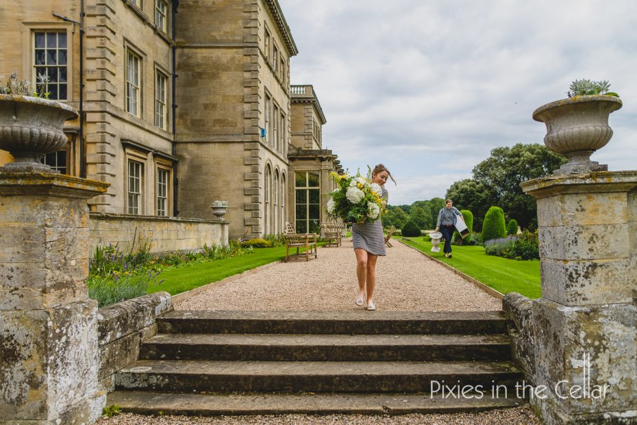 In motion at Prestwold Hall