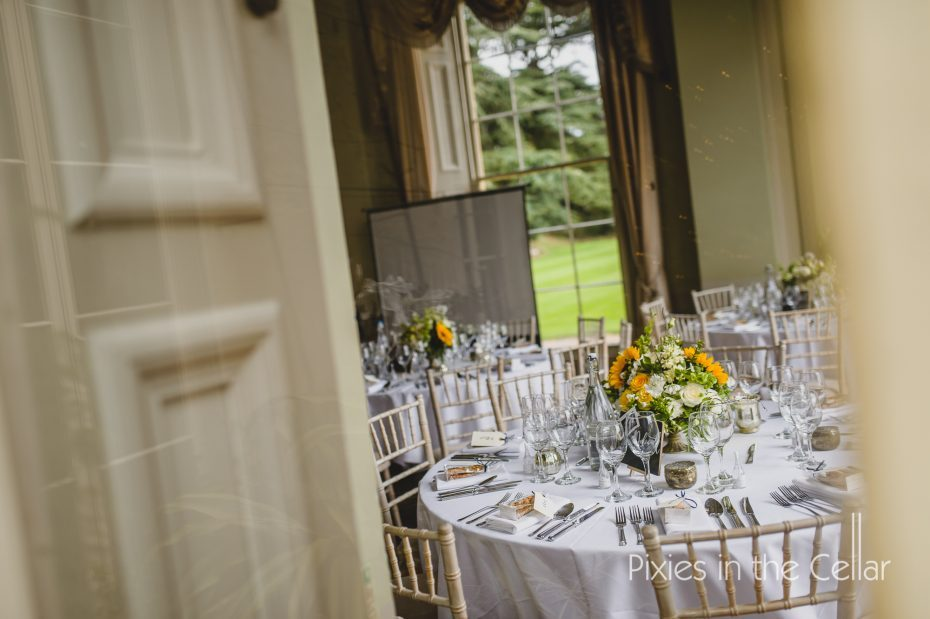 Table designs Prestwold Hall