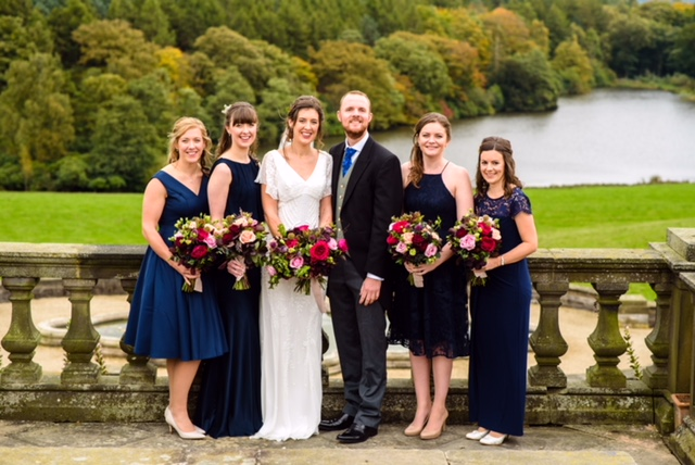 Osmaston park Autumnal wedding