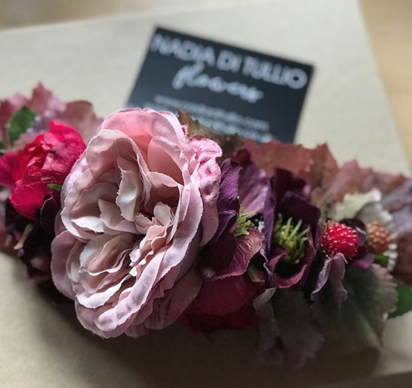 Nadia Di Tullio Custom Hair Flowers