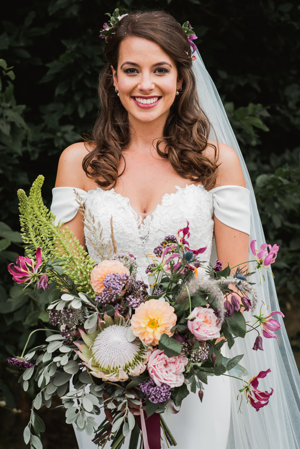 Shiningford Wedding Nadia Di Tullio Flowers