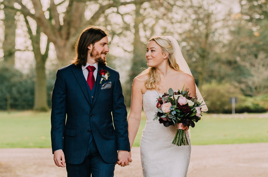 Ellie and Evan at Yeldersley Hall