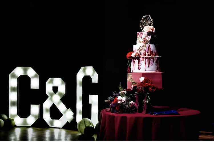 Thornbridge hall Wedding Cake